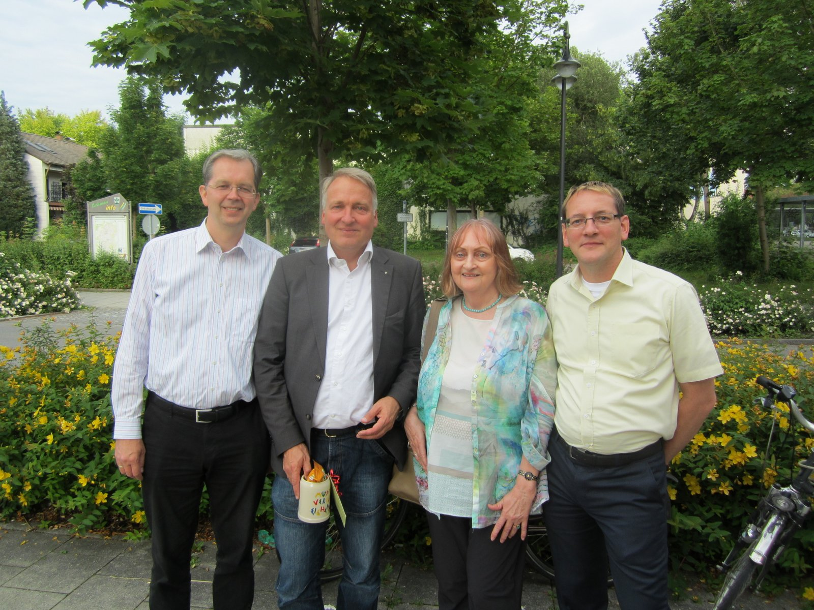 Peter Münster - Gratulanten