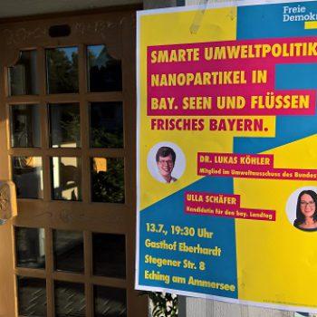 Veranstaltung von Ulla Schäfer und Dr. Lukas Köhler