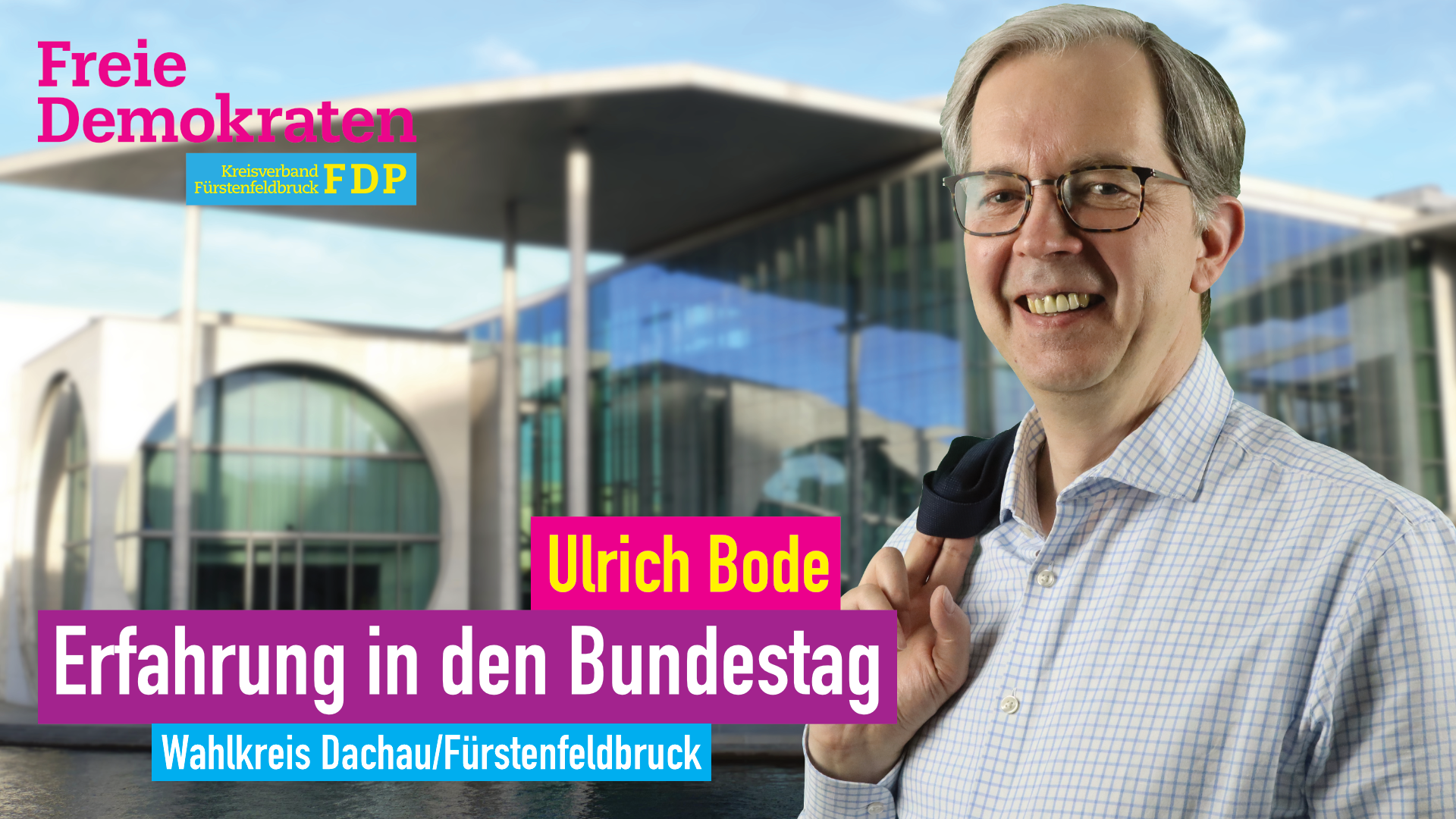 Erfahrung in den Bundestag